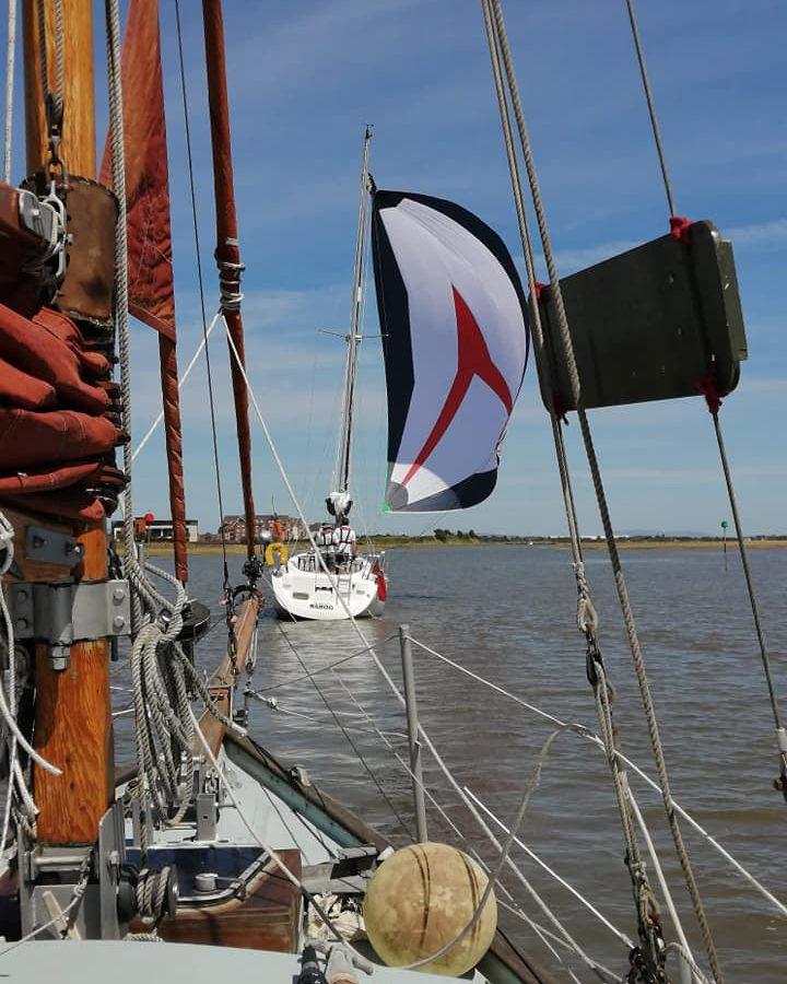Social distancing – Bank Holiday sailing