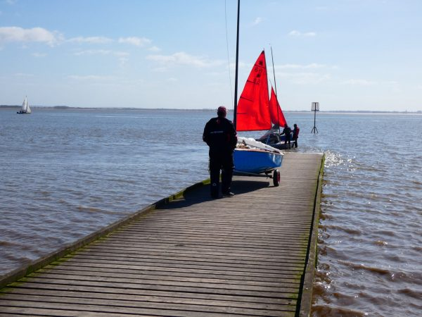 Easter Sailing (with social distancing)