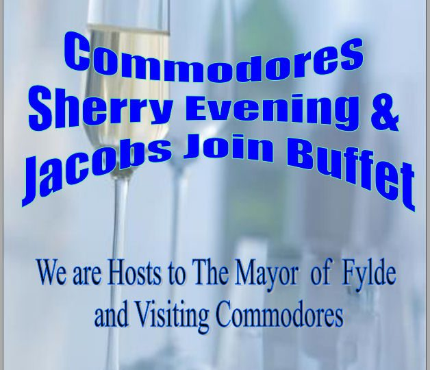 Commodore's Sherry Evening