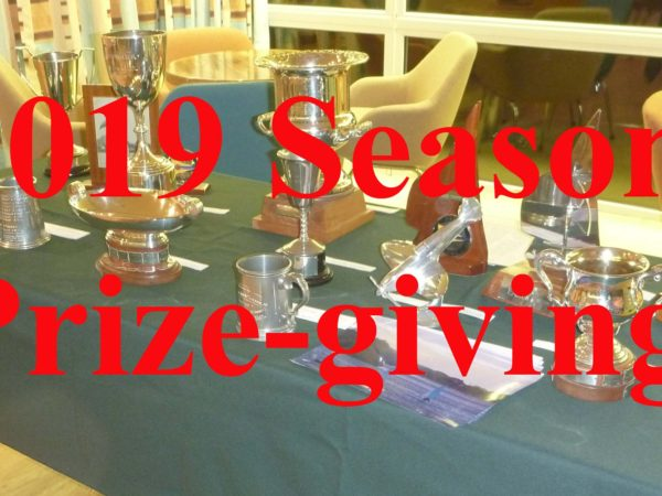 2019 Season awards and prize-giving