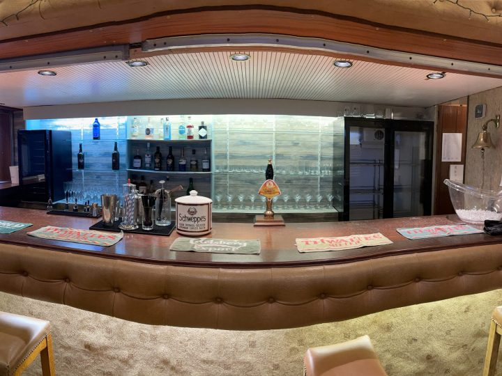 Clubhouse bar refurbishment