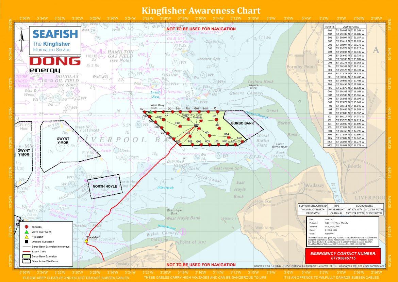 Burbo Bank 2 Ext Wind Farm Kingfisher Flyer Ribble Cruising Club