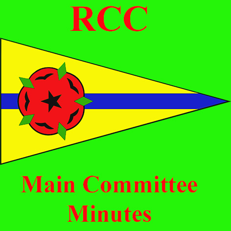 2020 October Main Committee minutes