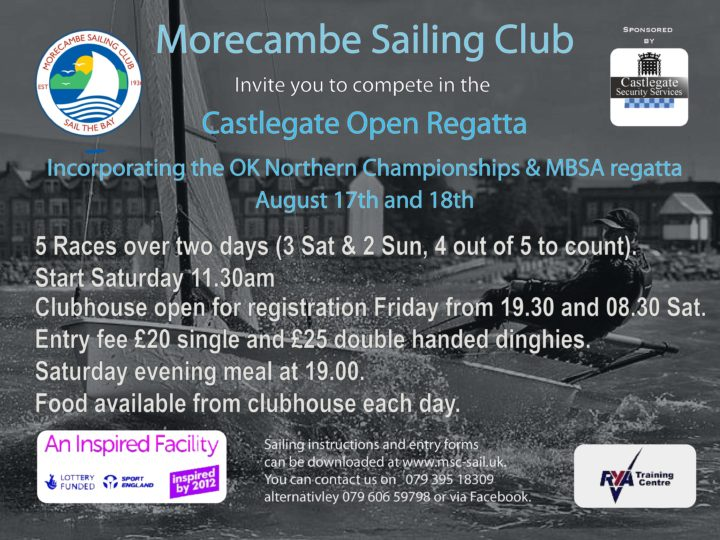 MBSA Dinghy Regatta 17-18th August