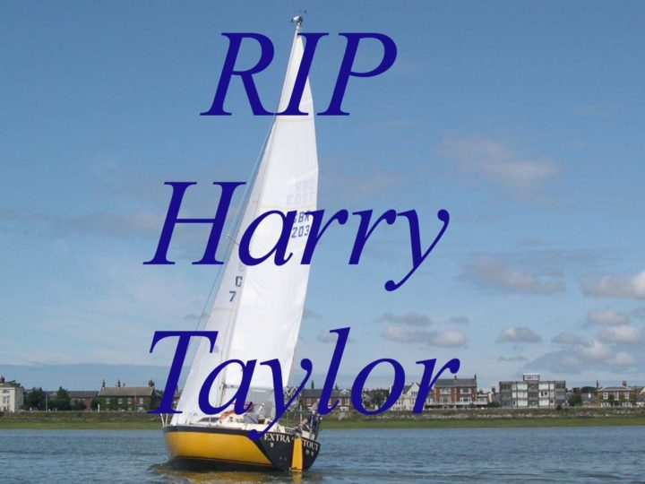 It is with sadness that the club announces the passing of Harry Taylor on the 5th February