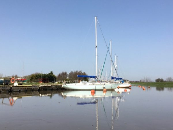 Release from Lock-down step 1 sailing