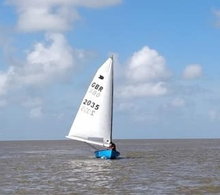 August Newsletter -The club is making a gradual return to dinghy sailing on the sea from the clubhouse
