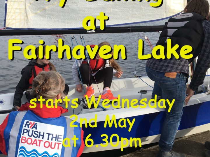 Try Sailing at Fairhaven Lake