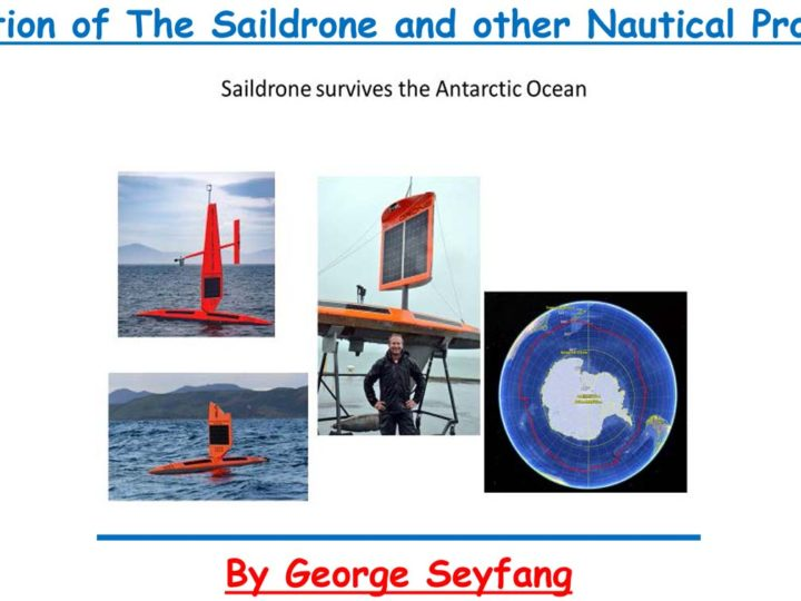 September Last Tuesday Talk -Evolution of the Saildrone and other Nautical Projects