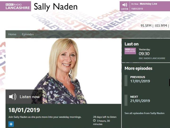 RCC's training features on Radio Lancashire's Sally Naden Show