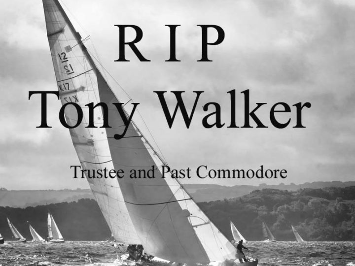 With great sadness, the club announces the passing of Tony Walker