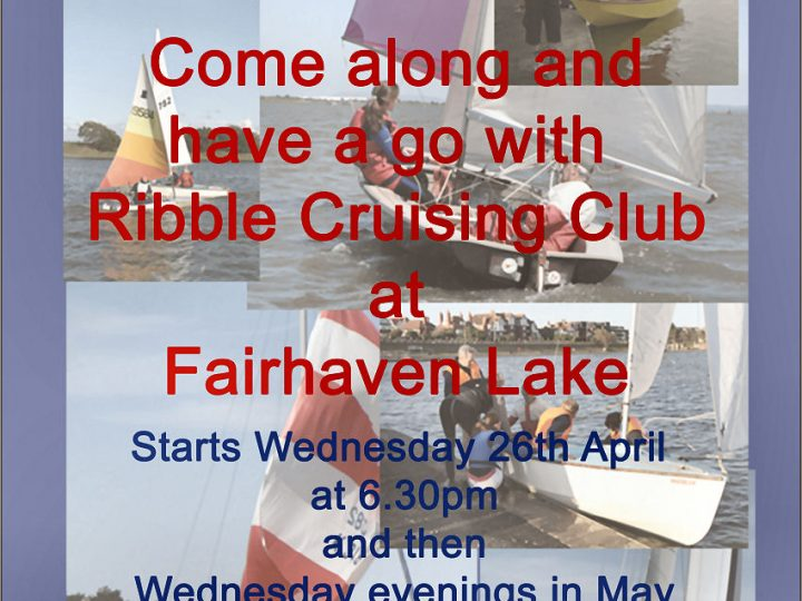 TRY SAILING 2017 STARTS 26TH APRIL
