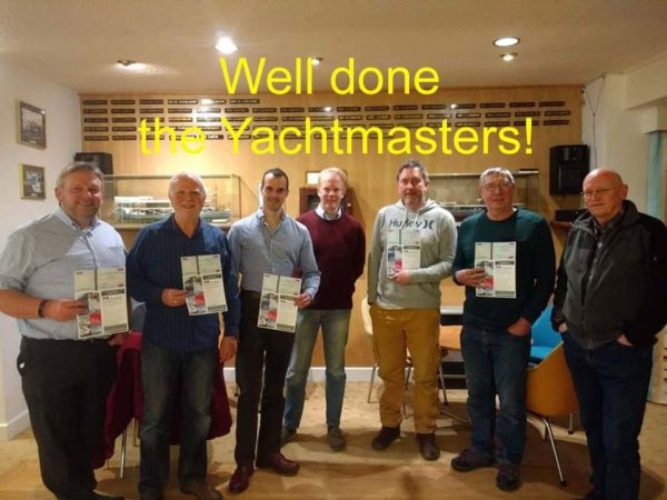 Successful RCC RYA Yachtmasters