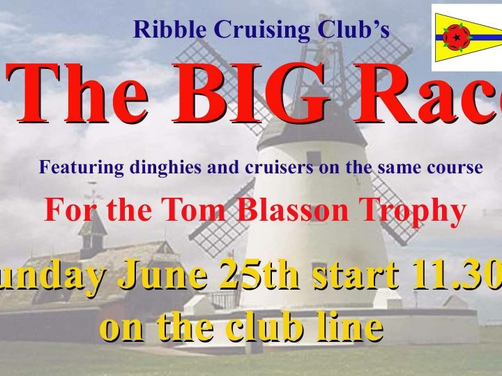 Don't forget The Big Race 25th June