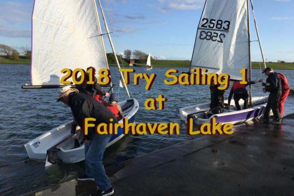 2018 Try Sailing 1 -RYA PTBO