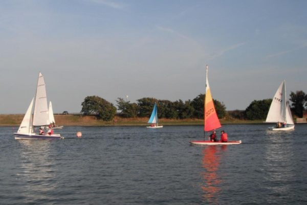 Sail Training at Fairhaven Lake 9