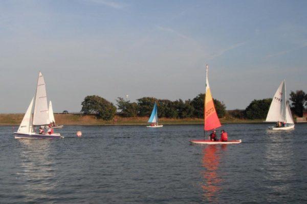 Sail Training at Fairhaven Lake 9