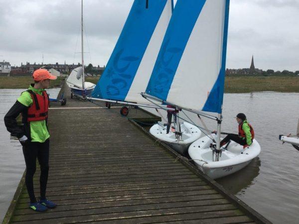 Tidal Sail Training 1st June