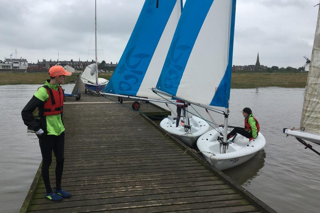 Tidal Sail Training 1st June